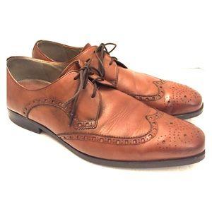 Clarks Oxford Wingtips Brown EUC  Comfort Plus